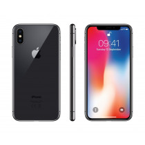 Apple iPhone X A1901 64GB Unlocked Smartphone-Space Gray-Great
