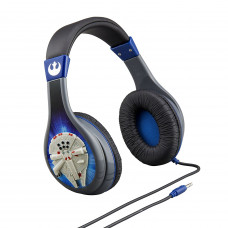 Star Wars Episode VII eKids Parental Control Headphones-Black & Blue-Mint