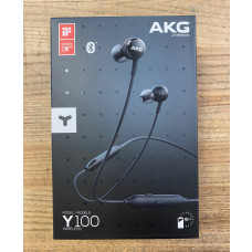 AKG Y100 Bluetooth Wireless Headphones Earbuds-Black-Mint