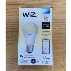 WiZ WiFi Smart Bulb A19 60W Single bulb